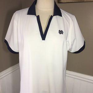 Peter Millar Women's Notre Dame Golf shirt